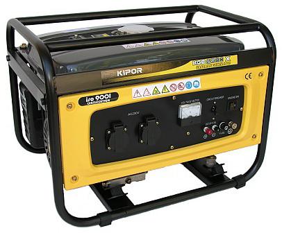 Бензиновый генератор KGE2500E KIPOR (Номинальная мощность: 2 кВт, Максимальная мощность: 2 кВА)