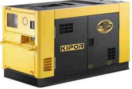Дизельный генератор KDE16STA KIPOR  (Номинальная мощность: 10,8 кВт, Максимальная мощность: 12 кВА)