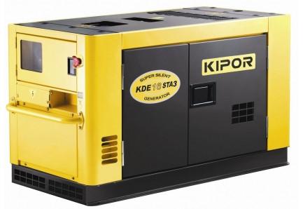 Дизельный генератор KDE16STA3KIPOR (Номинальная мощность: 10,8 кВт, Максимальная мощность: 13,5 кВА)