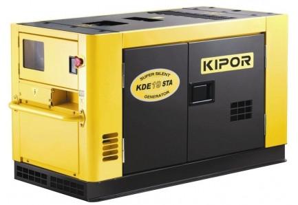 Дизельный генератор KDE19STA KIPOR (Номинальная мощность: 12,96 кВт, Максимальная мощность: 14,4 кВА
