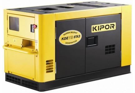 Дизельный генератор KDE19STA3 KIPOR (Номинальная мощность: 13 кВт, Максимальная мощность: 16,25 кВА)