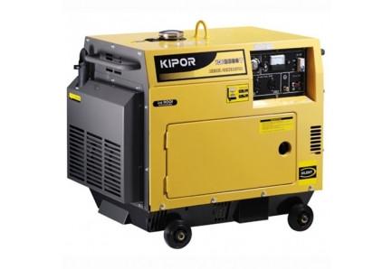 Дизельный генератор KDE3500T KIPOR (Номинальная мощность: 2,8 кВт, Максимальная мощность: 2,8 кВА)