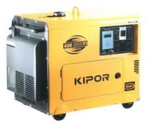Дизельный генератор KDE6700TA KIPOR (Номинальная мощность: 4,5 кВт, Максимальная мощность: 4,5 кВА)