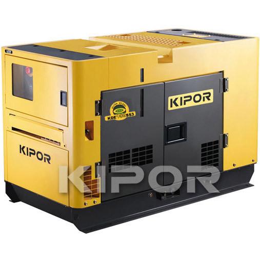 Дизельный генератор KDE16SS KIPOR  (Номинальная мощность: 13 кВт, Максимальная мощность: 13 кВА)