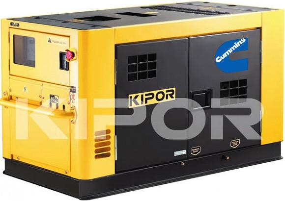 Дизельный генератор KDE360SS3 KIPOR  (Номинальная мощность: 272 кВт, Максимальная мощность: 340 кВА)