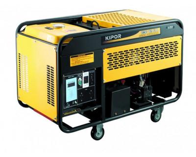 Дизельный генератор KDE12EA+KPEC40050DP52AKIPOR Номинальная мощность: 8,5 кВт, Макс.мощность:8,5 кВА