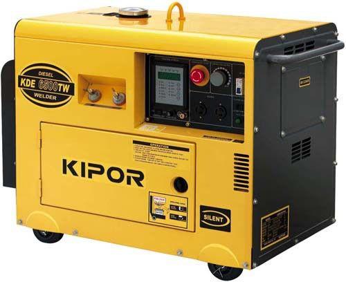 Сварочный генератор KDE180TW KIPOR  (Номинальная мощность: 2,8 кВт, Максимальная мощность: 2,9 кВА)