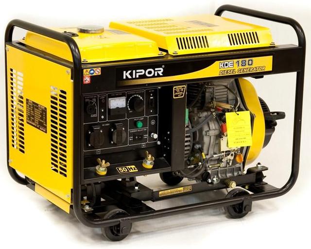 Сварочный генератор KDE180XW KIPOR  (Номинальная мощность: 2,8 кВт, Максимальная мощность: 2,9 кВА)