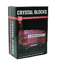 """3d Crystal Puzzle головоломка """"Лондонский автобус"""""""