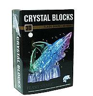 "3d Crystal Puzzle головоломка ""Акула с подсветкой"""