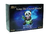 "3d Crystal Puzzle головоломка ""Панда с подсветкой"""