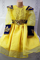 Детское казахское национальное платье для девочек