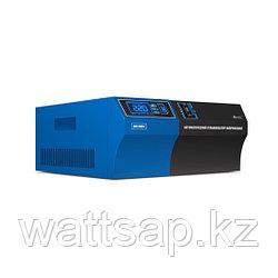 Стабилизатор (AVR), SVC, AVR-1000-F(1000Вт), LED-дисплей, Диапазон работы AVR: 140-280В, 2 вых., 1.2 м., Чёрно-синий