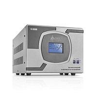 Стабилизатор (AVR), SVC, R-9000(7000Вт), LCD-дисплей, Диапазон работы AVR: 110-275В, Клеммная колодка, Серый, фото 1