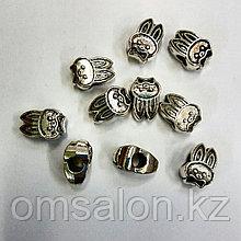 Бусины шармики для  браслета Пандора Заяц