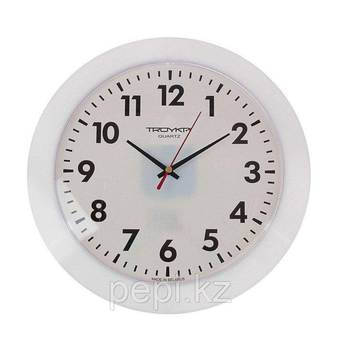 """Часы настенные """"Классика"""",d30см белые"""