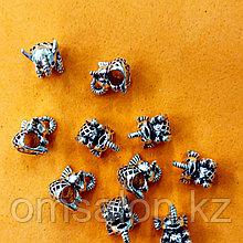 Бусины шармики для  браслета Пандора Слоник