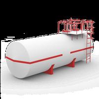 Горизонтальные стальные резервуары РГС