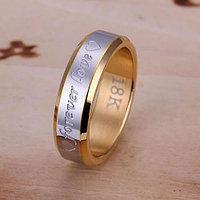 Кольцо с позолотой Forever Love