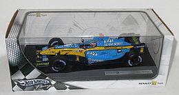 1/18 Hot Wheels Коллекционная машинка Renault R25 Fernando Alonso