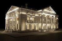 Фасадная подсветка зданий