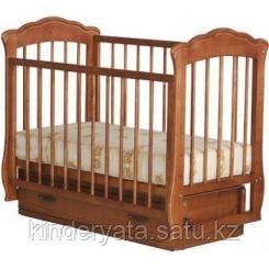 """Детская кроватка """"Елена"""" (орех)"""