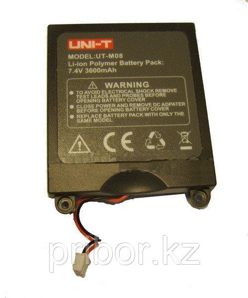 UT-M08  Запасной аккумулятор для осциллографа UTD-1025CL
