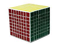 "Кубик Рубика ""ShengShou, 8 х 8 х 8"", черный"