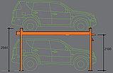 Парковка двухуровневая, четырехстоечная, г/п 3 тонны NORDBERG NB4-3T, фото 3