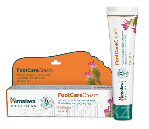 Аюрведический крем для ног, Гималаи (Himalaya Herbals Foot Care Cream), 50 гр