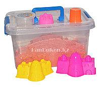 Кинетический песок для детей большой (1 Класс), живой песок (оранжевый), фото 1