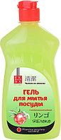 Fedora Гель для мытья посуды «Яблоко» с антибактериальной добавкой
