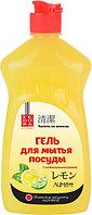 Fedora Гель для мытья посуды «Лимон» с антибактериальной добавкой