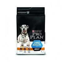 Pro Plan Adult Large Athletic, Про План для взрослых собак крупных пород с курицей и рисом, уп. 14кг.