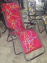 Кресло, шезлонг садовый (неон)
