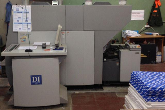 Ryobi 3404 Di б/у 2002г - цифровая офсетная печатная машина