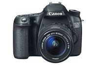 Canon EOS-70D Цифровой зеркальный фотоаппарат в комплекте с объективом EF-S 18-55mm, фото 1