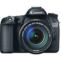 Canon EOS-70D Цифровой зеркальный фотоаппарат в комплекте с объективом Canon EF-S 18-135mm, фото 1