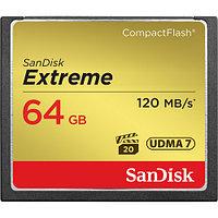 SanDisk Extreme CF 64Gb 120MB/s карта память, фото 1