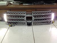 Решетка радиатора LED на Prado 150, фото 1