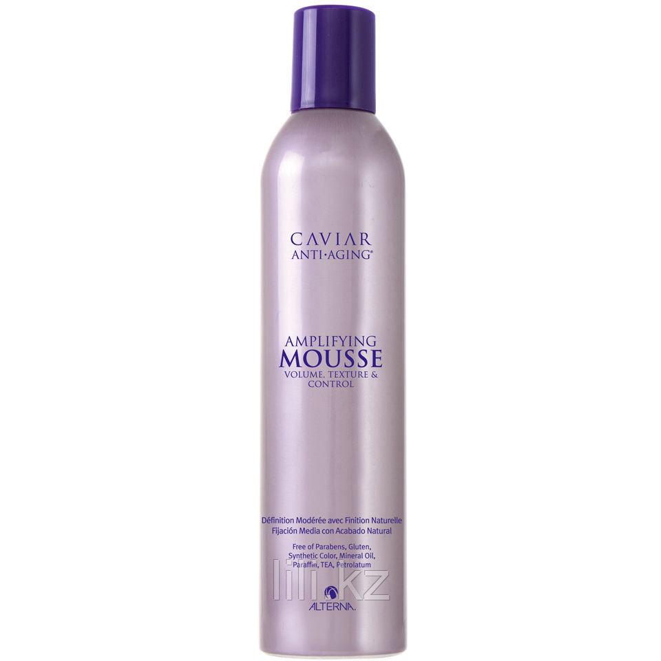 Пенка для укладки волос Alterna Caviar Anti-aging Amplifying Mousse 400 мл.