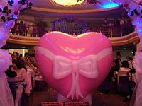 Сердце для выхода невесты