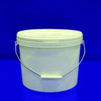 Ведро круглое с крышкой для жидких смесей 11 литров