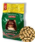 """""""Сибирская кошка"""" Наполнитель для кошек древесный """"Лесной"""", 5 л"""