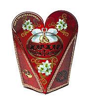 """Чай с предсказанием """"Жар-Жар"""" в подарочной коробочке (бонбоньерке), 14 см"""