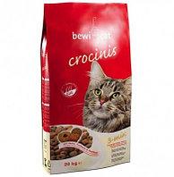 751 725 BEWI-CAT CROCINIS, Бэви Кэт, корм для очень привередливых кошек, уп. 20кг.