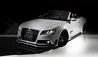Обвес Tommy Kaira Rowen на Audi A5 Coupe дорестайл