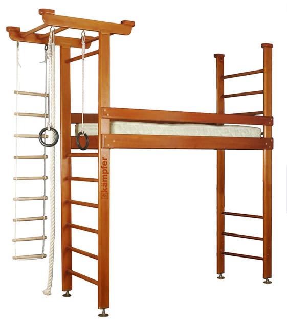 Детская кровать + спортивный комплекс1.1