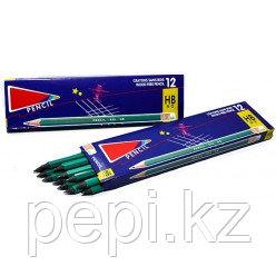 Карандаши ч\г с ластиком Pencil 655 HB