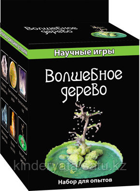 "Научная мини-игра ""Дерево в кристаллах"""